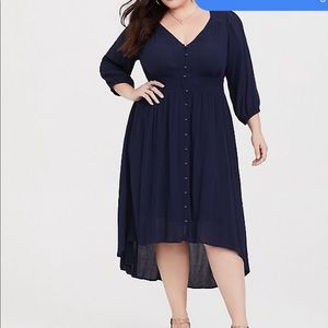 NWT torrid high low dress: Size 1
